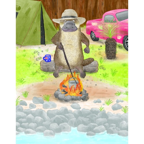 Platypus Camping (Background)