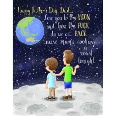 Love Dad To The Moon