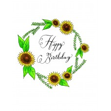 Sunflowers (Happy Birthday)