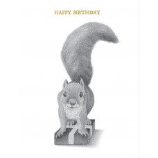 Squirrel (Happy Birthday)