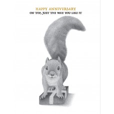 Squirrel On Top (Anniversary)