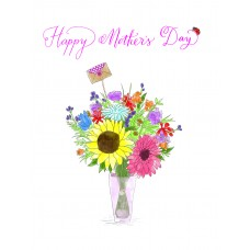 Flowers In A Vase (Mother's D)