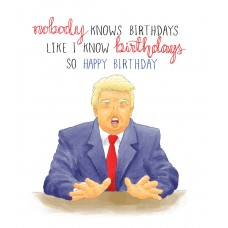 Mini Nobody Knows Birthdays...